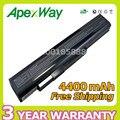 Apexway 8 cell 4400 mAh 14.4 v Bateria Do Portátil Para MSI A42-H36 A41-A15 A42-A15 A32-A15 A6400 CR640 CX640 Erazer X6815 X6816 Series