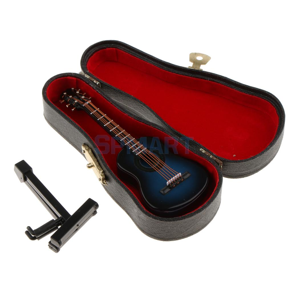 MagiDeal 1//12 Miniature Microphone Guitar Piano Model Dollhouse Music Model