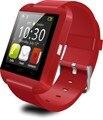 U8 smartwatch bluetooth relógio para iphone 4s/5/5s/6 relógio samsung s4/note 2/3 nota htc android smartphones android relógio
