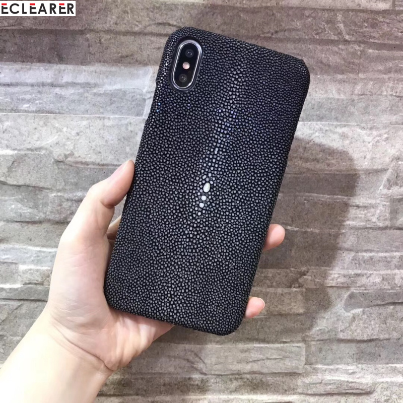 Fashion Genuine Pearl Fish Skin Leather Case For iPhone XS MAX/ XR Back Cover Luxury Original Leather Case For iPhone XR XS MAXFashion Genuine Pearl Fish Skin Leather Case For iPhone XS MAX/ XR Back Cover Luxury Original Leather Case For iPhone XR XS MAX