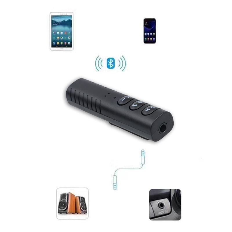 Car Transmitter Auto Receiver Car Bluetooth Receivers Universal 3.5mm jack Hands free Bluetooth Speaker Music Car Bluetooth Aux