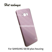 10Pcs G950 Housing For Samsung Galaxy S8 G950 G950F Back Glass Battery Cover Rear Door Case Replacement With Back Sticker цена и фото