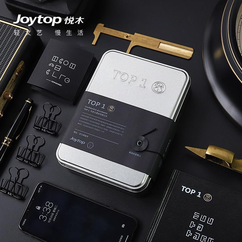 Joytop TOP1 Confidential Series Notebook A6 LAB Decryption Diary Notepad 1PCS