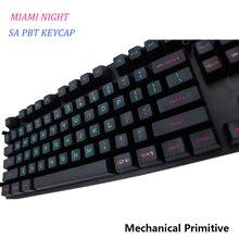 MP SA PBT клавишный колпачок с выгравированными красками, клавишный колпачок Cherry MX switch keycaps для проводной USB механической игровой клавиатуры