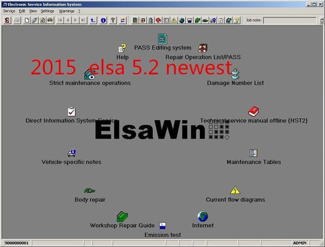 Cudowna 2019 New Arrival ElsaWin 6.0 pracy dla VW 5.3 dla Audi QW58