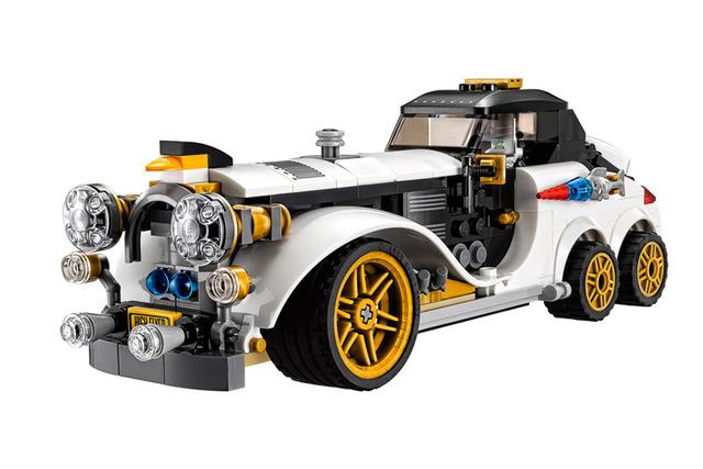 Serie Batman El Pingüino Ártico LEPIN Rodillo Película Modelo Bloques de Construcción Ladrillos Niños Juguetes Marvel Compatible Legoe