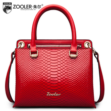 ZOOLER new high-quality luxury brand fashion portable shoulder bag counter genuine, well-known brands for Women