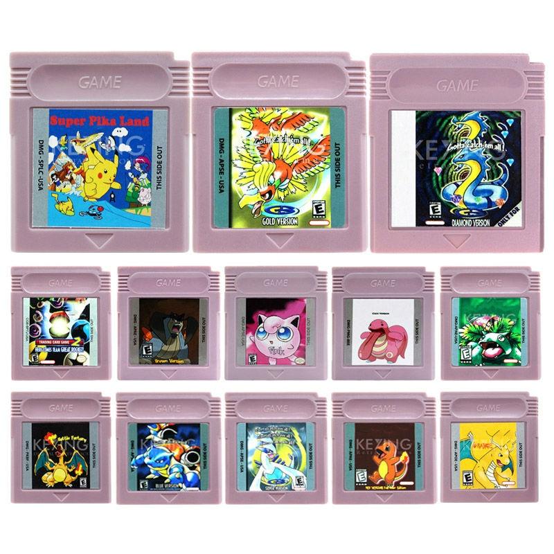 Nintendo 16 Bit Video Game Cartridge Console Card Pocket Series English Language Version The Second Edition forPokemon go