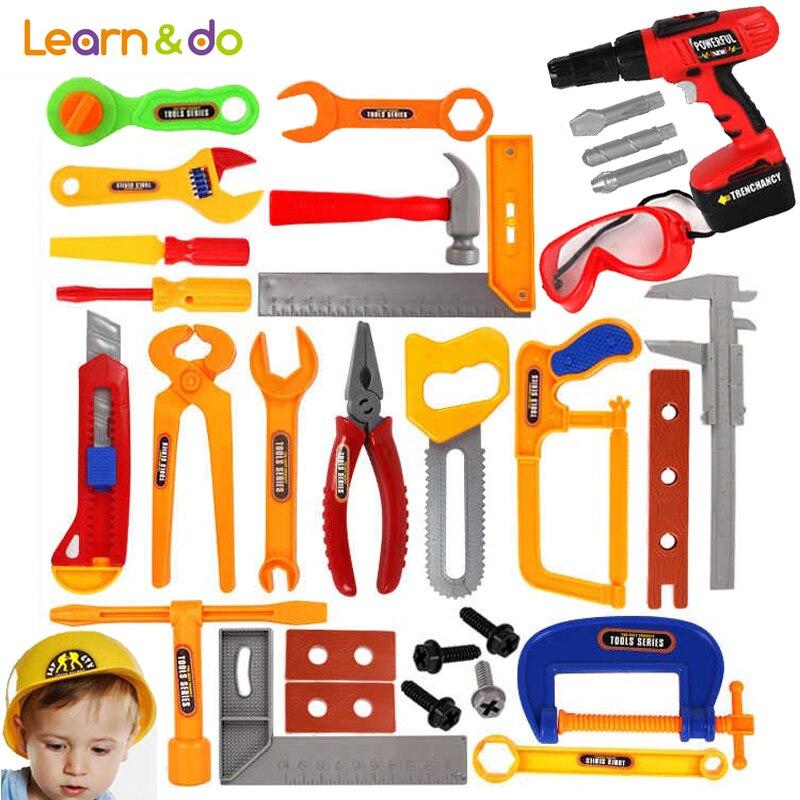 37 шт./компл. Инструменты для ремонта игрушки классические претендует модели инструмента игрушки для детей раннего обучения образования Наб... ...