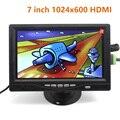 Полный Новый 7 дюймов 1024*600 IPS Сенсорный Монитор ЖК-Модуль с HDMI VGA AV Экран Raspberry Pi 3 Банан