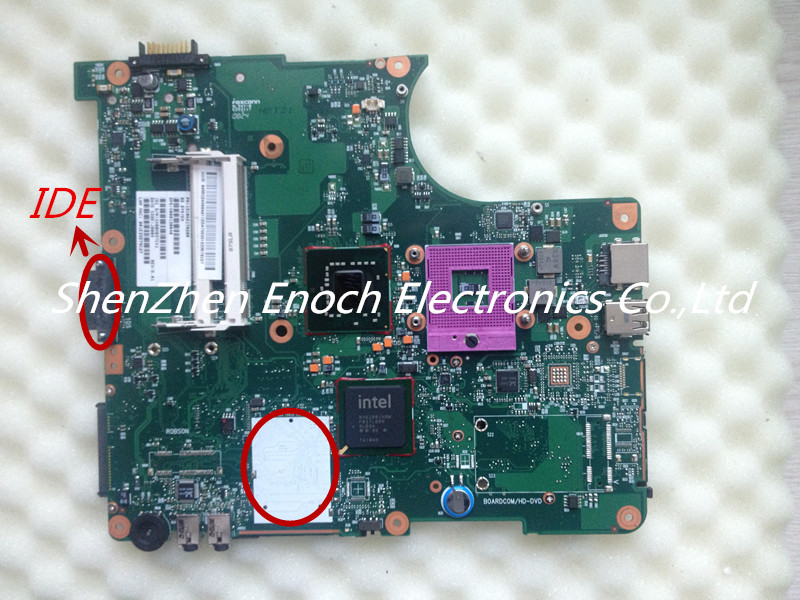 ФОТО For Toshiba Satellite L300 Laptop Motherboard V000138040  6050A2170201-MB-A03  IDE DVD