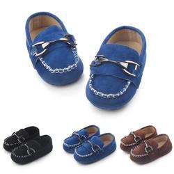 Tongyouyuan bebê recém-nascido meninos crianças sapatos berço bebe infantil da criança clássico moda fivela de metal primeiros caminhantes mocassins prewalkers