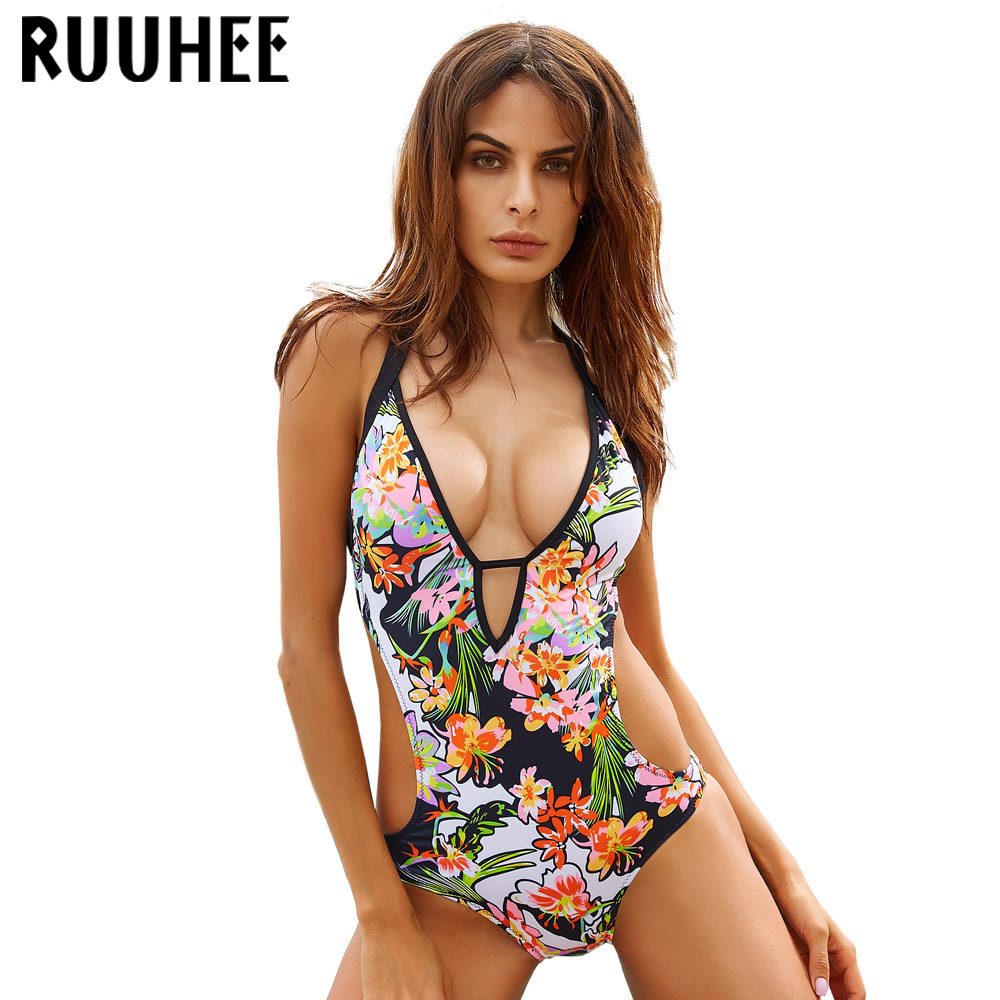 Sexy Bikini Set One Piece Monokini Swimwear Swimsuit Women Bathing Suit 2017 Maillot De Bain Femme Beachwear Biquini Swim Suit sexy one piece swimsuit women swimwear trikini bathing suit push up monokini padded maillot de bain femme halter beachwear d261