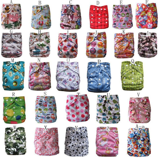 print color 20 diaper+20 insert(2layer) 30%DISCOUNT best quality instock