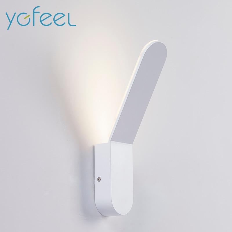 [YGFEEL] 5W LED Wall Lamp Modern Bedroom Wall Light Reading Lighting Indoor Corridor Lamp Porch light Room decoration AC90-260V цена 2017