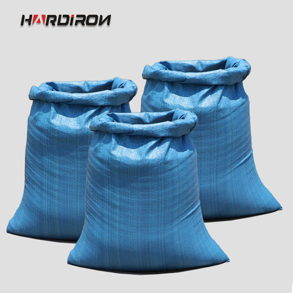 HARDIRON 10PCS Yellow Blue and Green Three-color Thickening Large Woven Bag Express Logistics Air Special Mail Packing Sack