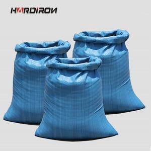 HARDIRON, 10 Uds., amarillo, azul y verde, tres colores, grueso, grande, bolsa tejida, logística Express, aire, bolsa de embalaje especial por correo