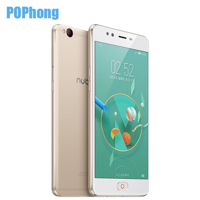 Original Nubia M2 Lite 3GB RAM 64GB ROM Quad Core 64 bit MTK6750 LTE Cell Phone 5.5 inch Android M Dual SIM 16.0MP