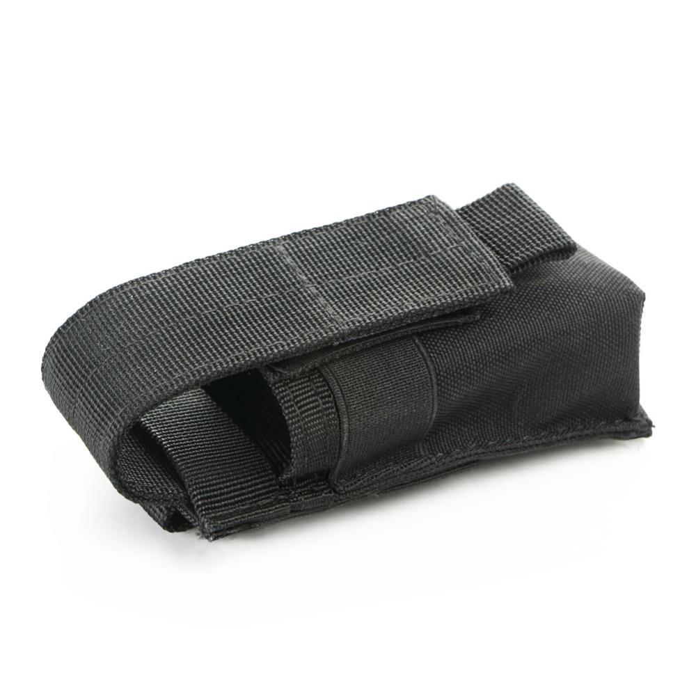 2018 Portable Military Flashlight Torch Belt Holster Holder Case Pouch Black For Similar Size Tactical Handheld Flashlight