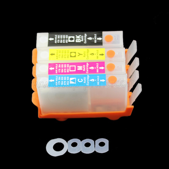 UP 4pcs refillable ink cartridge For HP 903 with chip  OfficeJet 6950 Officejet Pro 6960 6961 6963 6964 6970 printer