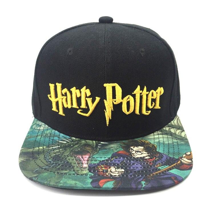 Amichevole Hot Harry Potter Cappello Da Tennis Grifondoro Hip-hop Cappellini Da Baseball Studente Estate Cappelli Da Sole Regalo Giovane Adolescente Moda Berretto Di Cotone