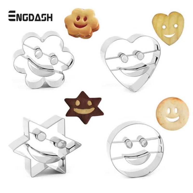 arc-en-Emporte-piècesKawaii Cute Baby Shower biscuit Lot de 2 SMILEY Cloud