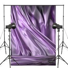 5x7ft Abstract Dark Purple Photography Backdrop Waterfall Type Background Art Photo Studio Wall