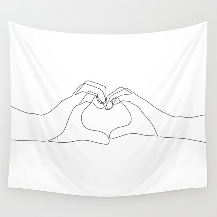hand-heart1330440-tapestries
