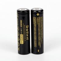 Sofirn-batería recargable de 3000MAh, 18650 V, protección de iones de litio precargadas, 3,7 baterías para linterna LED, linterna Tatica