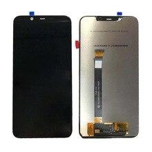 Черный ЖК-дисплей Дисплей для Nokia X7 ЖК-дисплей Дисплей с сенсорным планшета Стекло Панель сборки для Nokia 7,1 плюс бесплатная доставка