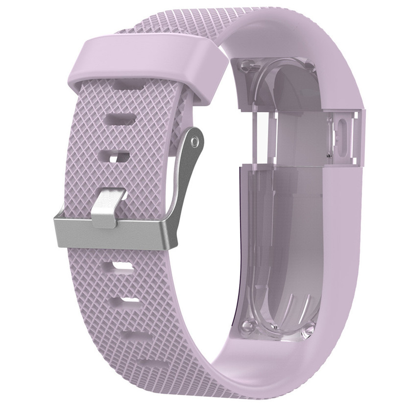 Replacement Silicone Band Rubber Strap Wristband Bracelet For Fitbit Charge HR S Jun26#2