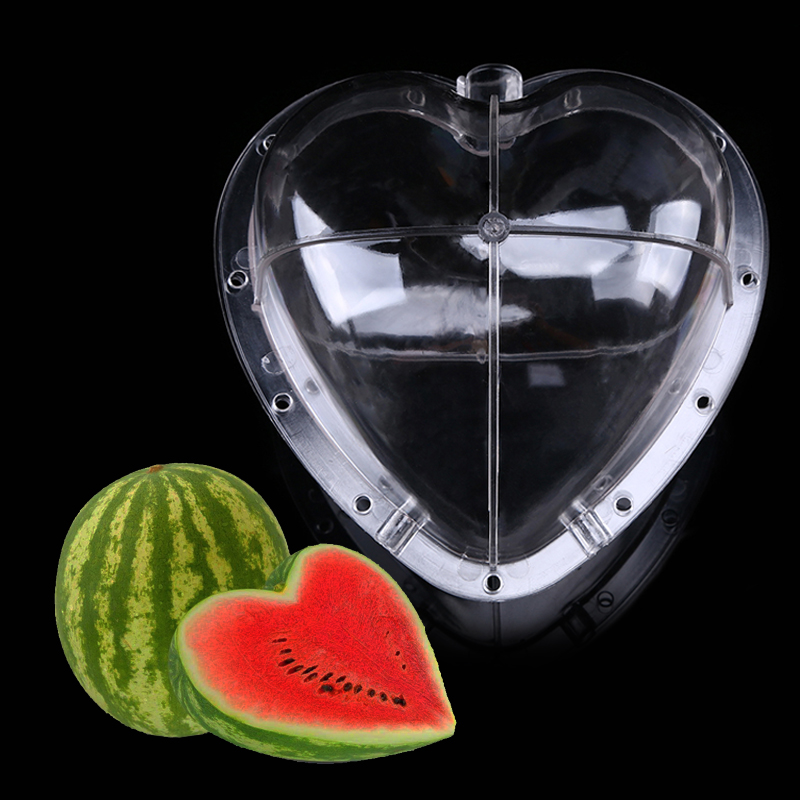 Square Watermelons And Apples Heart Or: Creative Large Size Watermelon Shaping Mold Plastic Square