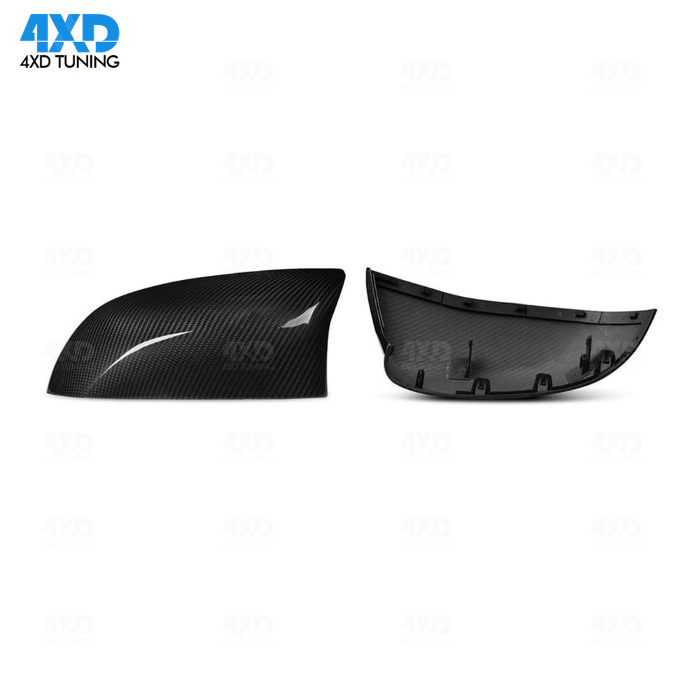X5M X6M Carbon Mirror Cover glossy black For BMW F85 F86 Dry Carbon Fiber Side RearView