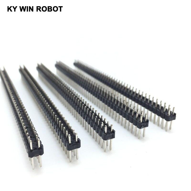 10 шт. 80 Pin 2x40 Однорядный штырьковый разъем 2,54 поломки