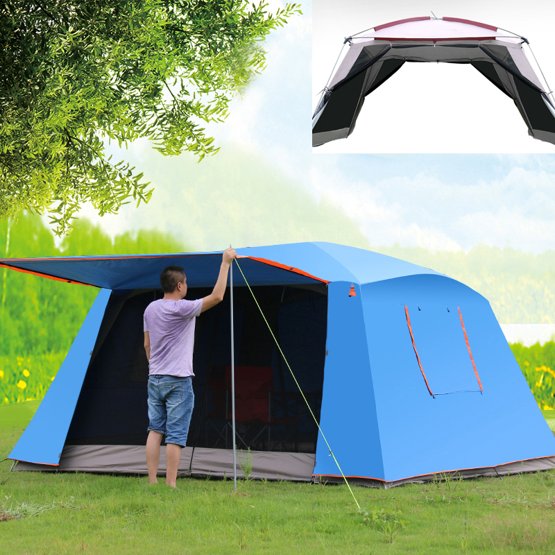 4corners Double Layer Awning Outdoor Canopy Tent Sunscreen