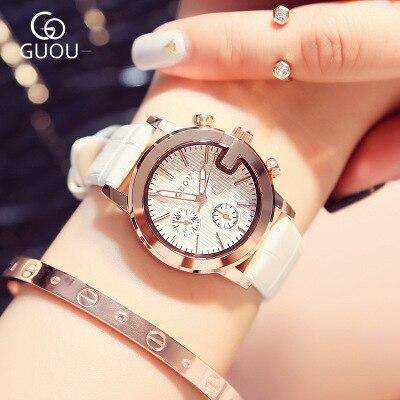 Luxury Brand relogio feminino Classic Fashion Quartz Watch Women small dial Leather watches female Sport waterproof Watch reloj