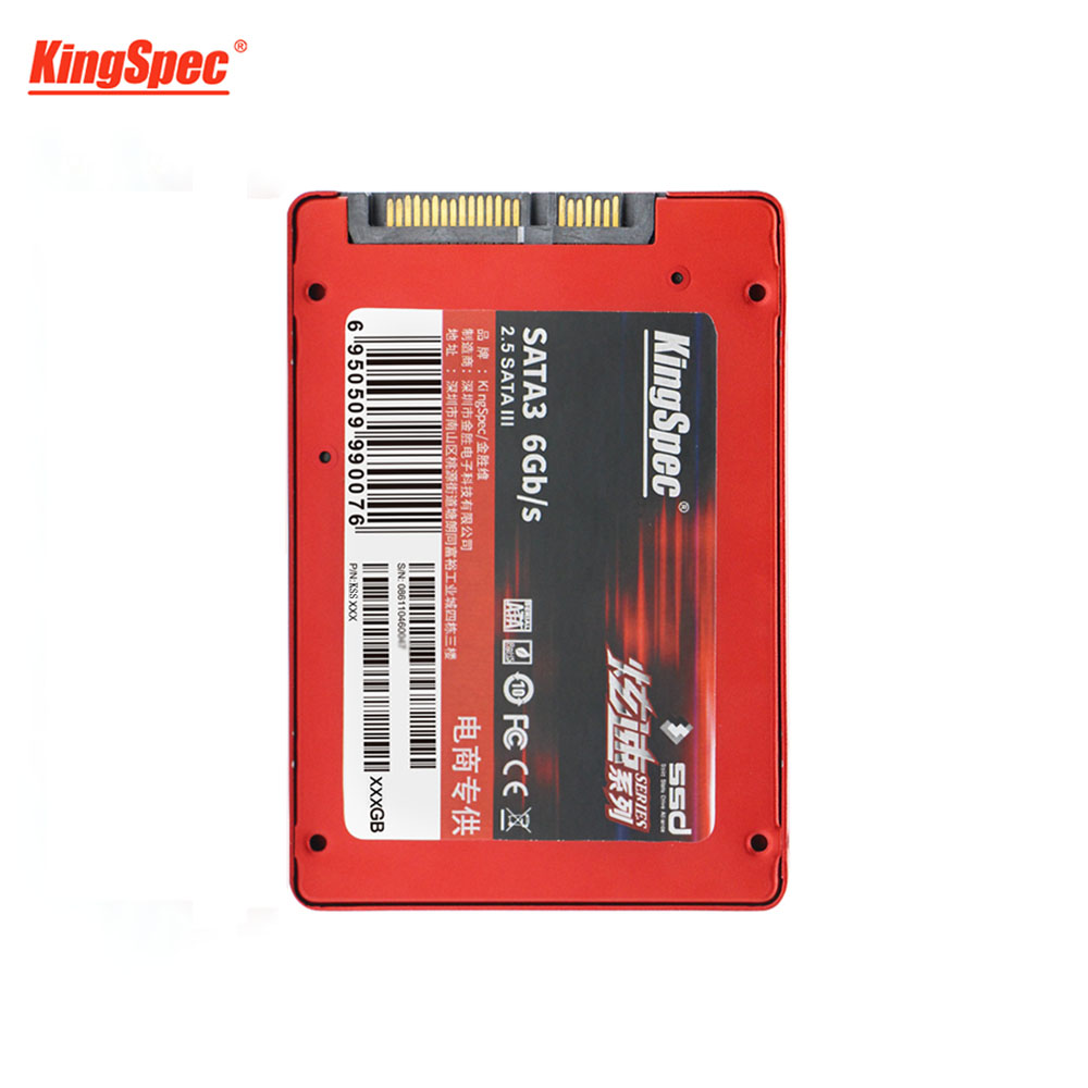 Nueva venta HDD 2,5 pulgadas SATA3 120 GB Disco Duro SSD SATAIII interfaz interna SDD SSD KingSpec 120g para computadoras portátiles tabletas portátil