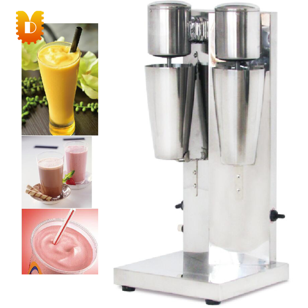 double head milk shake making machine/commercial milk mixer machine edtid new high quality small commercial ice machine household ice machine tea milk shop