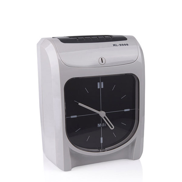 Office Use Employee Electronic Punch Card Clock Paper Time Attendace Clock Ribbon DIY Kit Time Clock