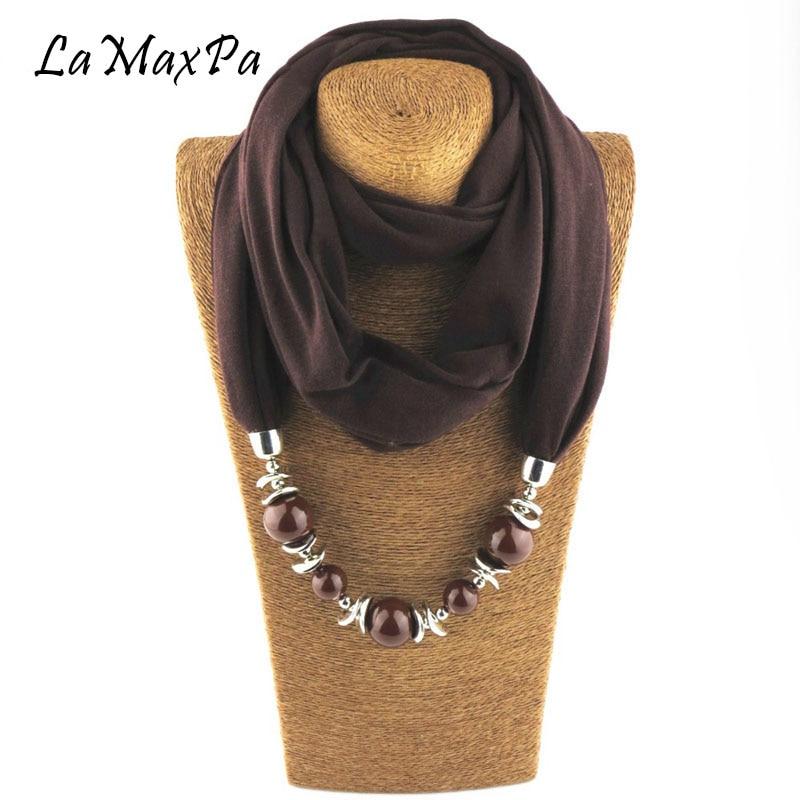Newest Fashion Elegant Jewelry Scarves For Women Soft Cotton Scarf Lady Spring & Autumn Popular Pendant Scarf Female Echarpe