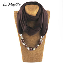 Newest Fashion Elegant Jewelry Scarves For Women Soft Cotton Scarf Lady Spring & Autumn Popular Pendant Female Echarpe