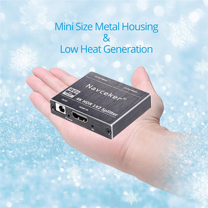 Image 5 - New 4K 60Hz HDR HDMI 2.0 Splitter 1x2 Splitter HDMI 2.0 4K Support HDCP 2.2 UHD HDMI Splitter 2.0 Switch Box For PS4 Projector