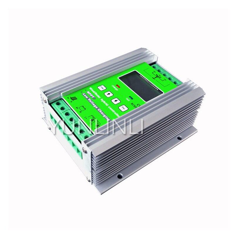 Controlador de carga híbrida Solar eólica, 600W, 24V, cargador de turbina eólica JW2460 Controlador CNC  - AliExpress