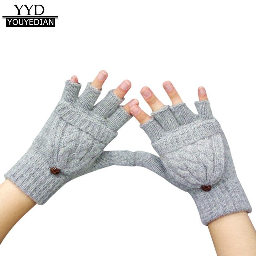 2017 Hommes Modedesigner 6 Farben Hanf Blumen Fingerlose Handschuhe Gestrickte Lange Handschuhe Guanti Invernali Frauen Winter Handschuh Armstulpen