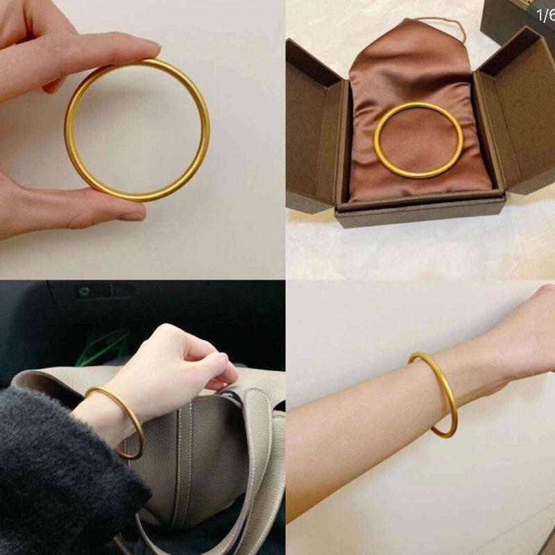 2019 nouveau Bracelet de couleur dorée chaude pour femmes hommes réel 925 Bracelet en argent Sterling fin 5mm largeur cadeau d'anniversaire Pulsera
