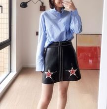 2018 New Fashion Genuine Sheep Leather Skirt G19