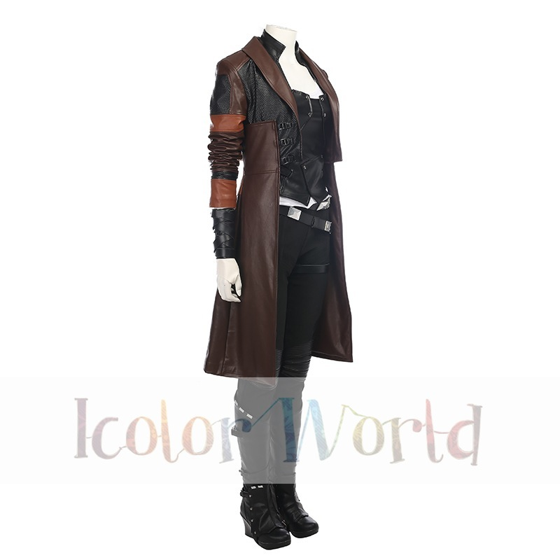 Guardians of the Galaxy Vol. 2 Gamora Cosplay Costume03