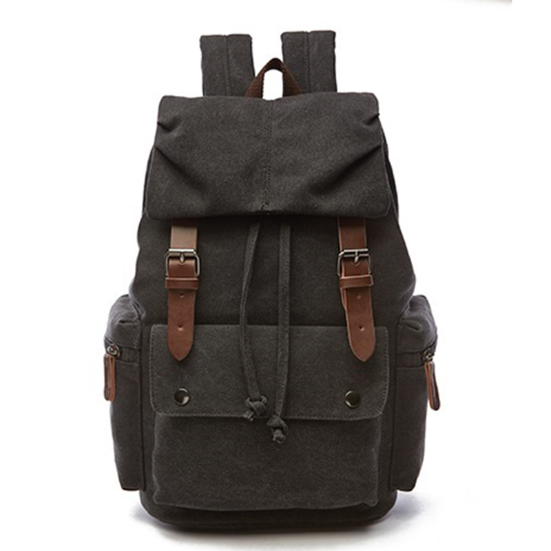 New Vintage Backpack Women Canvas Rucksack Leisure Travel School Bag Unisex Laptop Backpacks Men Bagpack Mochila Masculina Bolso vintage multifunction business travel canvas backpack men leisure laptop bag school student rucksack