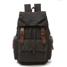 New Vintage Backpack Women Canvas Rucksack Leisure Travel School Bag Unisex Laptop Backpacks Men Bagpack Mochila Masculina Bolso