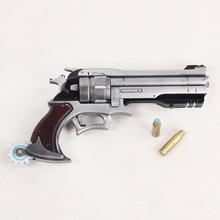 Купить с кэшбэком Jesse McCree Cosplay Revolver and Bullets Gun Weapon mp003432